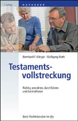 Abbildung Buch: Testamentsvollstreckung